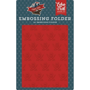 Echo Park BUCCANEER Embossing Folder pta176031