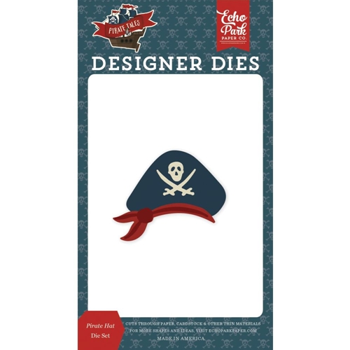 Echo Park PIRATE HAT Die Set pta176043 Preview Image