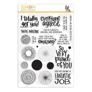 Simon Says Clear Stamps AMAZING sss201898