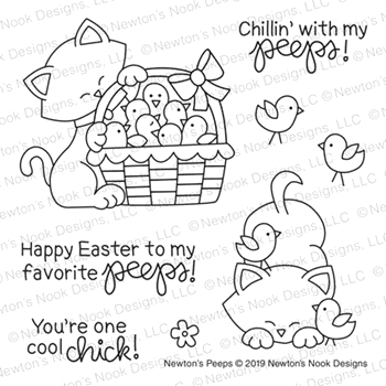 Newton's Nook Designs NEWTON'S PEEPS Clear Stamps NN1902S03