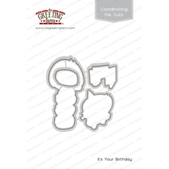 The Greeting Farm IT'S YOUR BIRTHDAY Coordinating Die Cuts TGF463