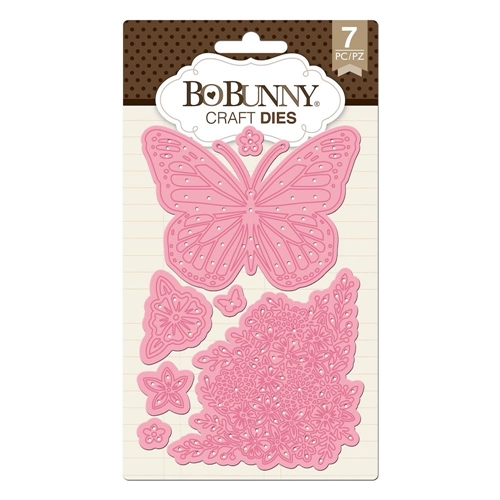 BoBunny BUTTERFLY GARDEN Craft Dies 7310507* Preview Image