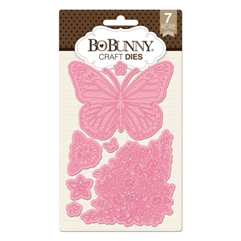 BoBunny BUTTERFLY GARDEN Craft Dies 7310507