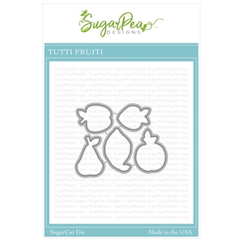SugarPea Designs TUTTI FRUITTI SugarCuts Dies spd-00331
