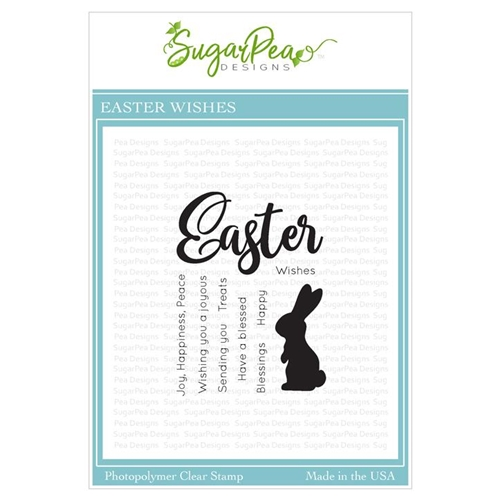 SugarPea Designs EASTER WISHES Clear Stamp Set spd-00332 Preview Image