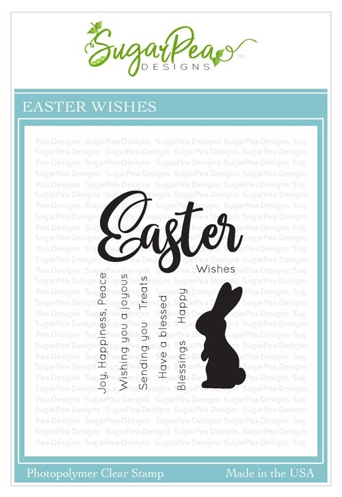 SugarPea Designs EASTER WISHES Clear Stamp Set spd-00332 zoom image
