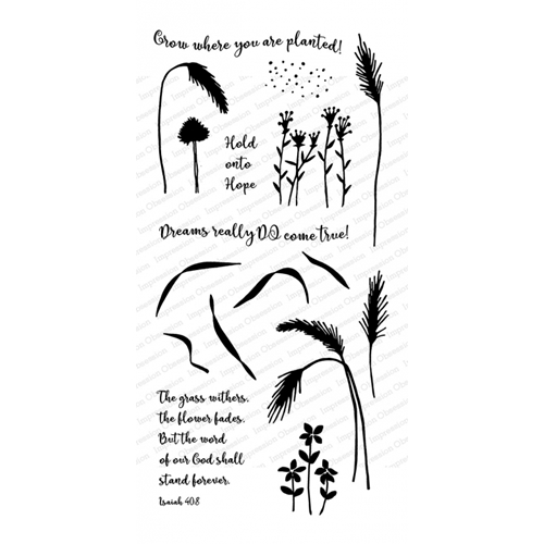 Impression Obsession Clear Stamps GRASS WP926 Preview Image