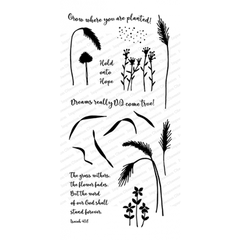 Impression Obsession Clear Stamps GRASS WP926