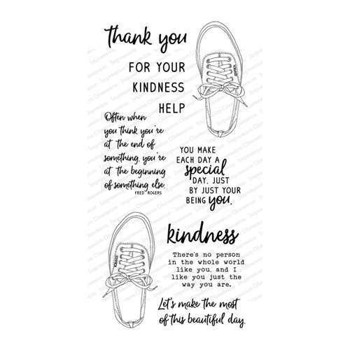 Impression Obsession Clear Stamps FRED SAID WP915 Preview Image