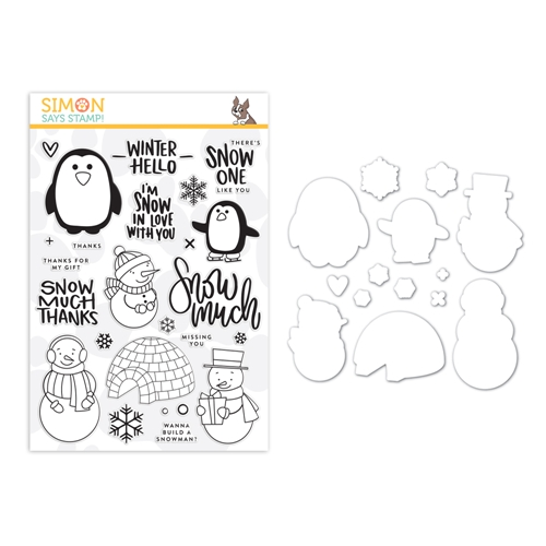 Simon Says Stamps And Dies SNOW MUCH set0219sm You Are Loved Preview Image