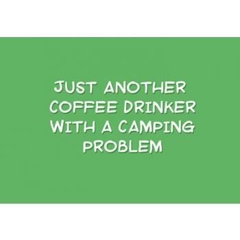Two-Lips Stamps CAMPING PROBLEM Clear Stamp TL118-02