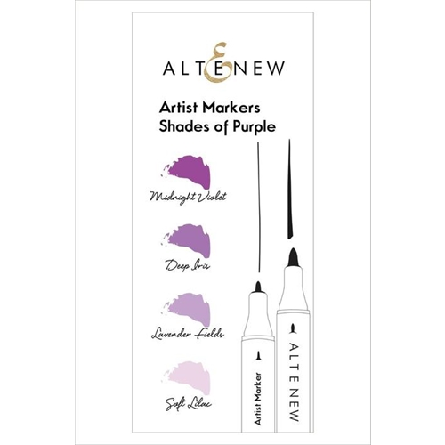 Altenew Artists Markers SHADES OF PURPLE ALT1962 Preview Image