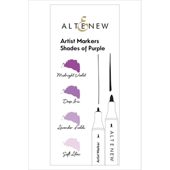 Altenew Artists Alcohol Markers SHADES OF PURPLE ALT1962
