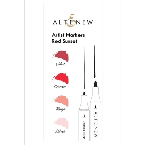 Altenew Artists Markers RED SUNSET ALT1963 Preview Image