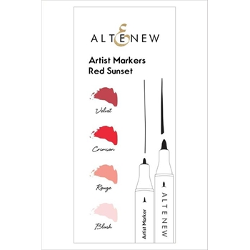 Altenew Artists Markers RED SUNSET ALT1963*