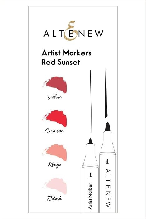 Altenew Artists Markers RED SUNSET ALT1963 zoom image