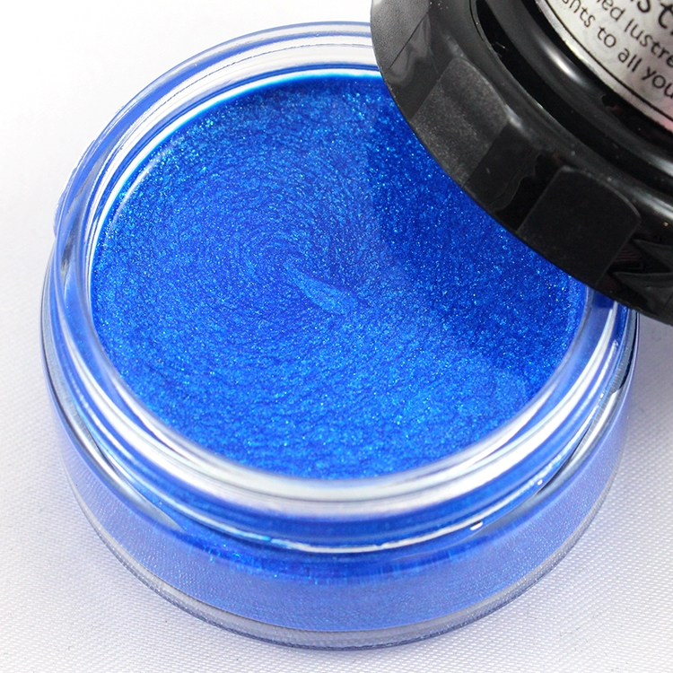 Cosmic Shimmer BLUE ALLURE Lustre Polish With Applicator csluallure zoom image
