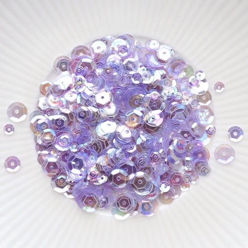 Little Things From Lucy's Cards PERIWINKLE Sequin Mix LB214 Preview Image
