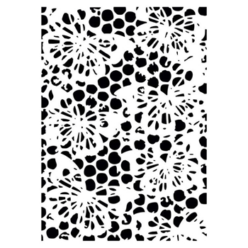 Creative Expressions BUBBLE BUTTERFLY Embossing Folder ef103