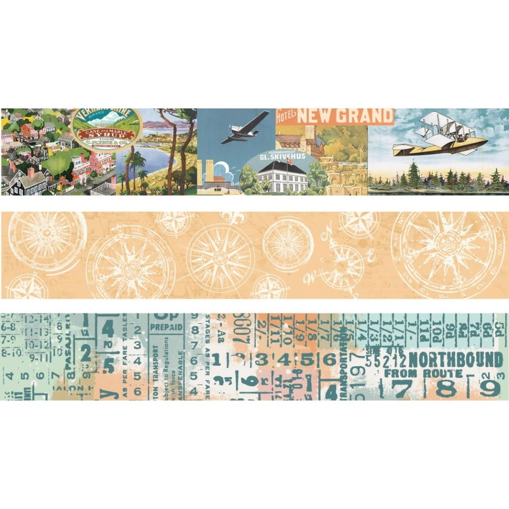Simple Stories VINTAGE TRAVELER Washi Tape 10463 zoom image