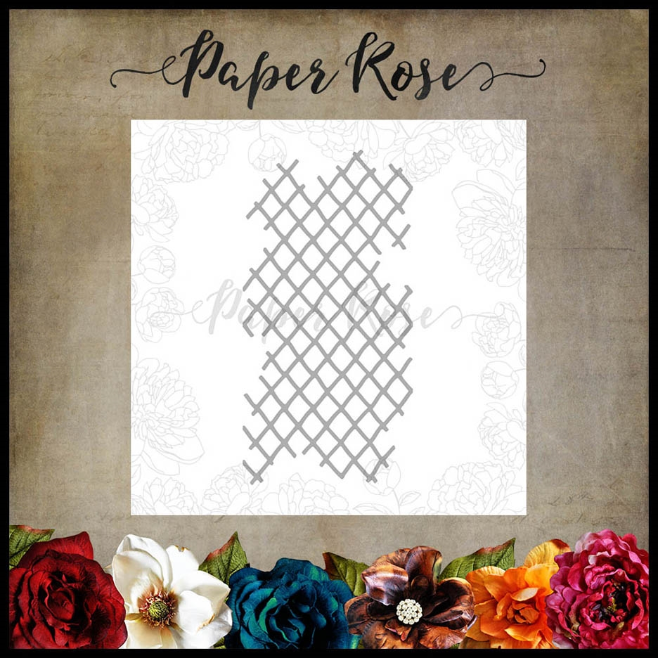 Paper Rose Texture 2 Craft Die