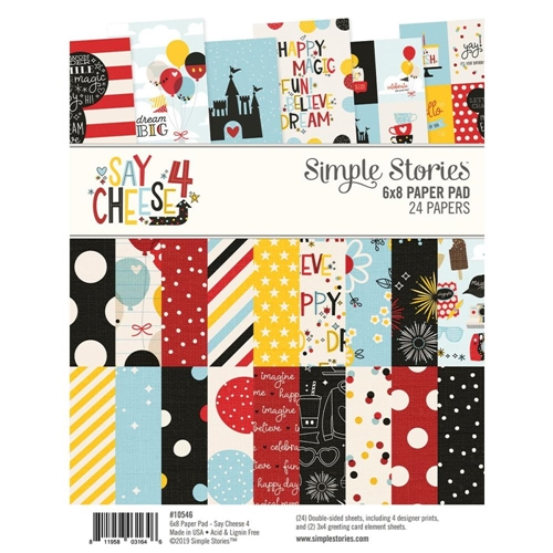 Simple Stories SAY CHEESE 4 6 x 8 Paper Pad 10546 Preview Image