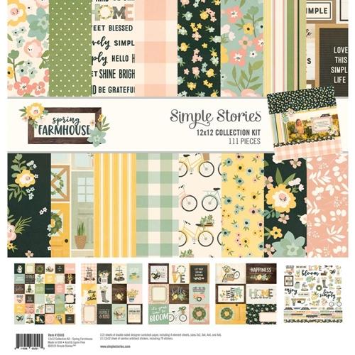 Simple Stories SPRING FARMHOUSE 12 x 12 Collection Kit 10583 Preview Image