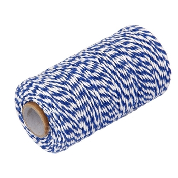 May Arts BLUE Baker's Twine Twisted Ribbon 4120203