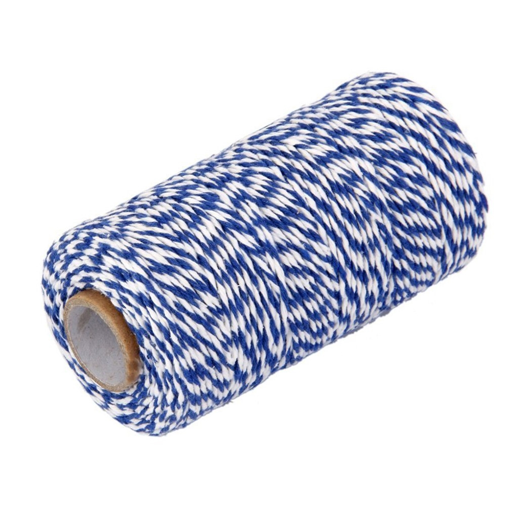 May Arts BLUE Baker's Twine Twisted Ribbon 4120203* zoom image