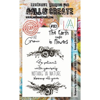 AALL & Create BOUQUET QUOTE SET Clear Stamp Set aal00182
