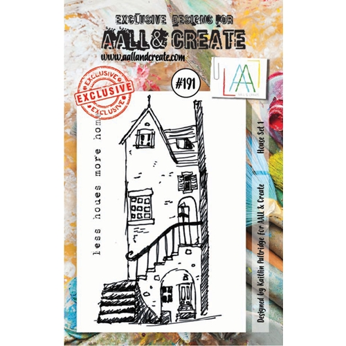 AALL & Create HOUSE SET 1 Clear Stamp Set aal00191 Preview Image