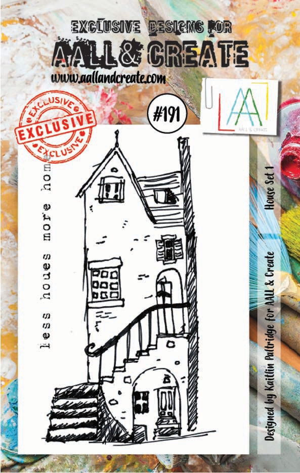 AALL & Create HOUSE SET 1 Clear Stamp Set aal00191 zoom image