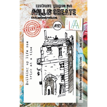 AALL & Create HOUSE SET 2 Clear Stamp Set aal00192