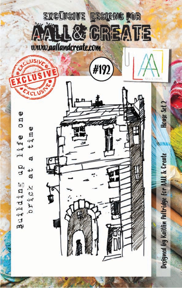 AALL & Create HOUSE SET 2 Clear Stamp Set aal00192 zoom image