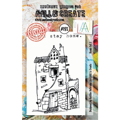 AALL & Create HOUSE SET 3 Clear Stamp Set aal00193 Preview Image