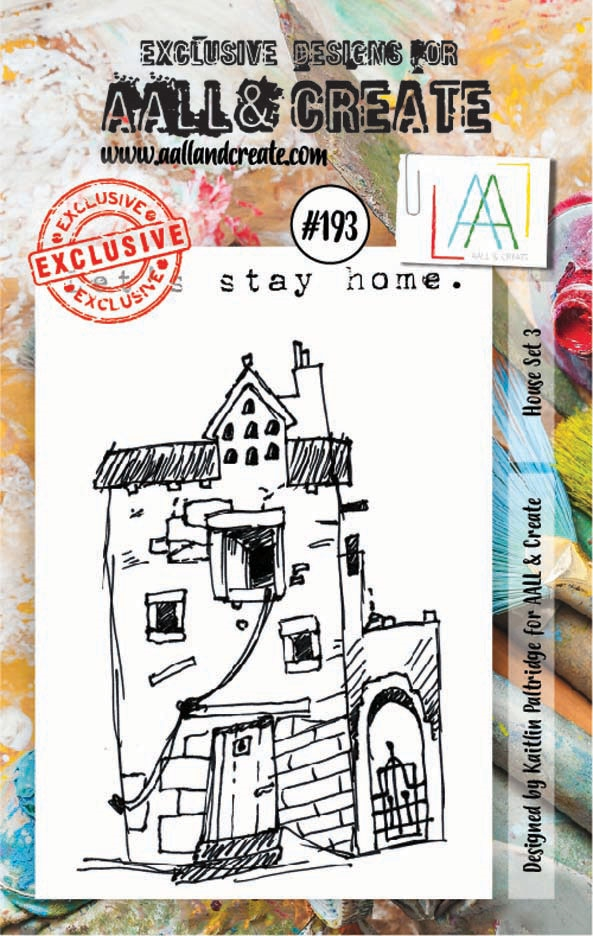 AALL & Create HOUSE SET 3 Clear Stamp Set aal00193 zoom image