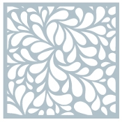 Gina K Designs WATER DROPLETS Stencil 9384 Preview Image
