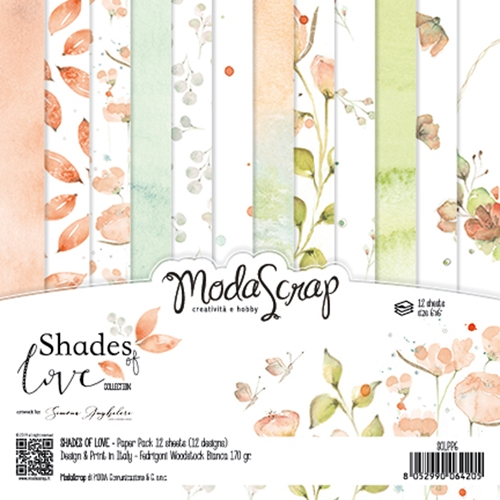 ModaScrap SHADES OF LOVE 6x6 Paper solpp6 Preview Image