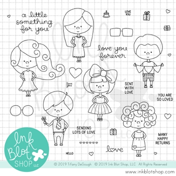 Ink Blot Shop Clear Stamp Set LITTLE SOMETHING inbl064