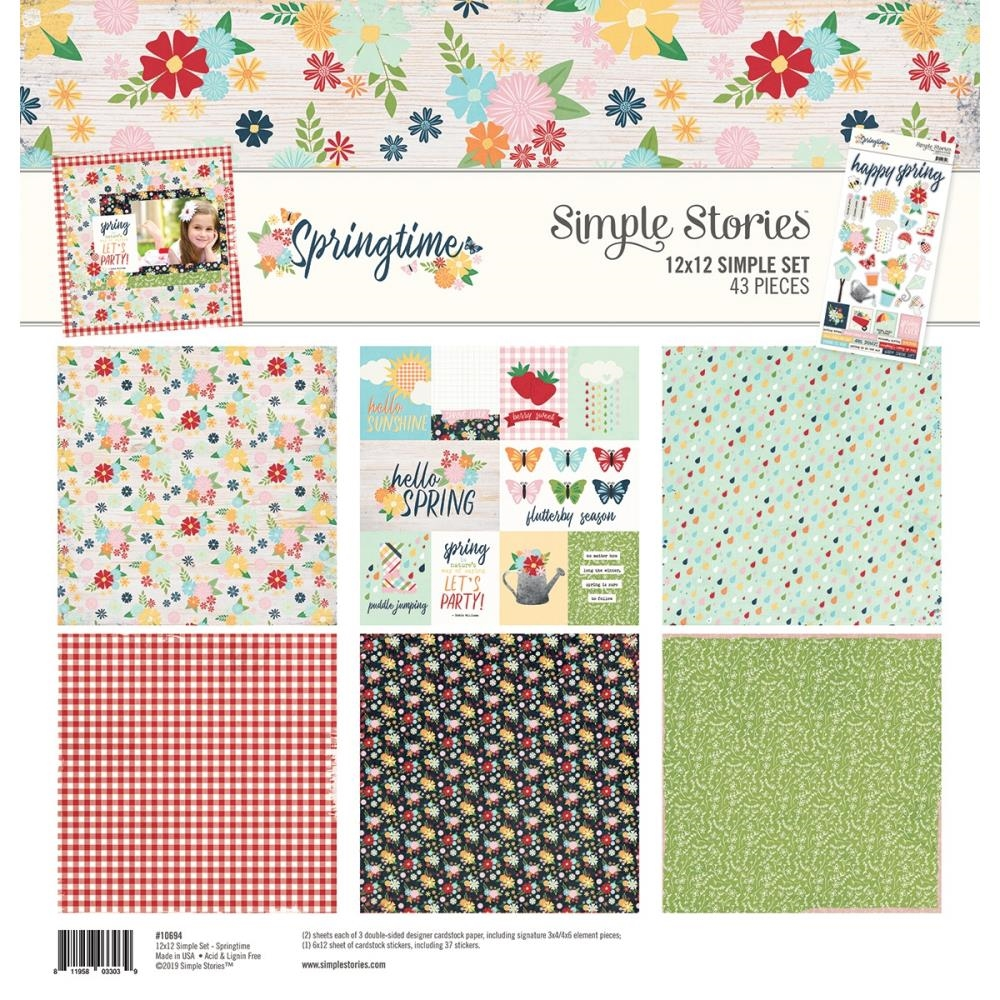 Simple Stories SPRINGTIME 12 x 12 Collection Kit 10694 zoom image