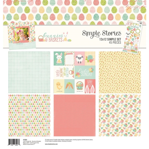 Simple Stories BUNNIES AND BASKETS 12 x 12 Collection Kit 10684 Preview Image