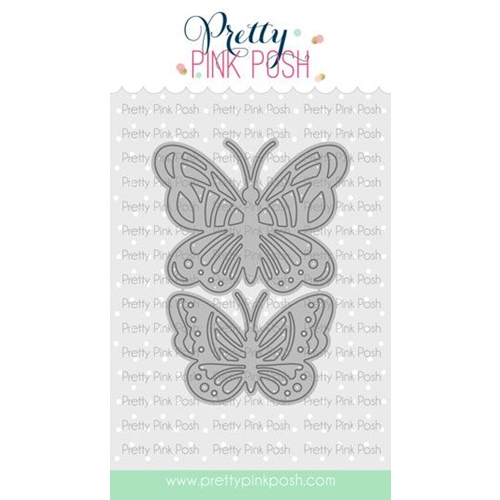 Pretty Pink Posh BOLD BUTTERFLIES Die Preview Image