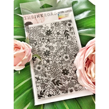 The Ink Road DAISIE BACKGROUND Clear Stamp Set inkr062