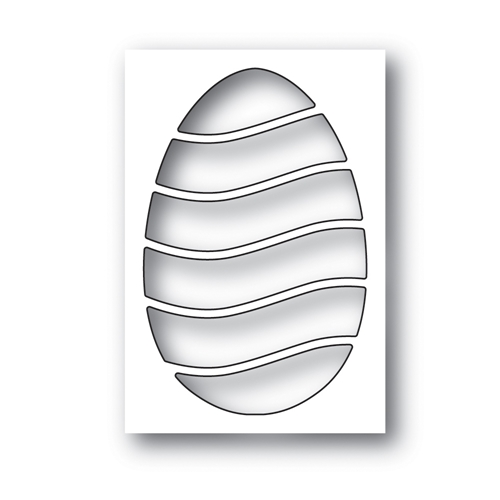 Simon Says Stamp WAVY EGG Wafer Die s640 Fresh Bloom Preview Image