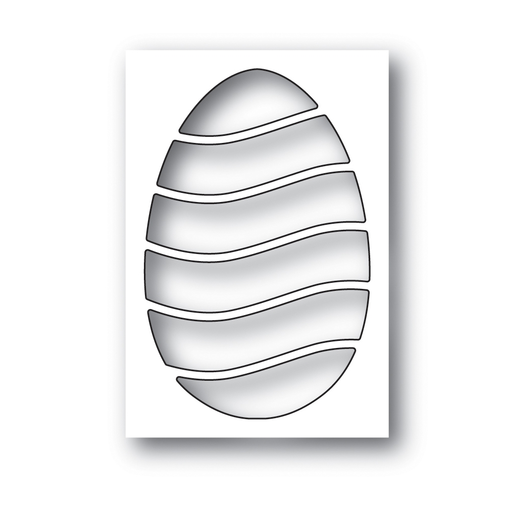 Simon Says Stamp WAVY EGG Wafer Die s640 Fresh Bloom zoom image
