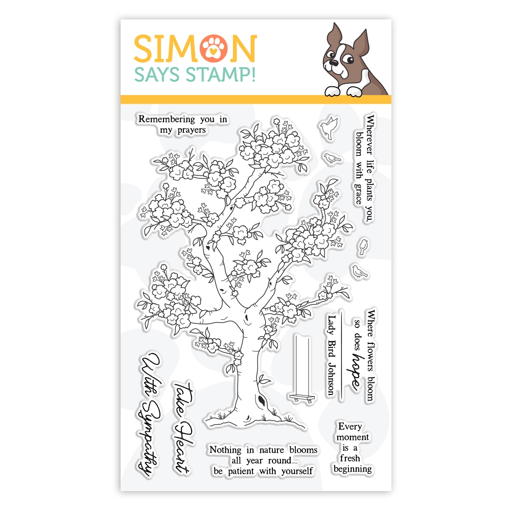 Simon Says Clear Stamps BLOSSOMING sss101962 Fresh Bloom zoom image