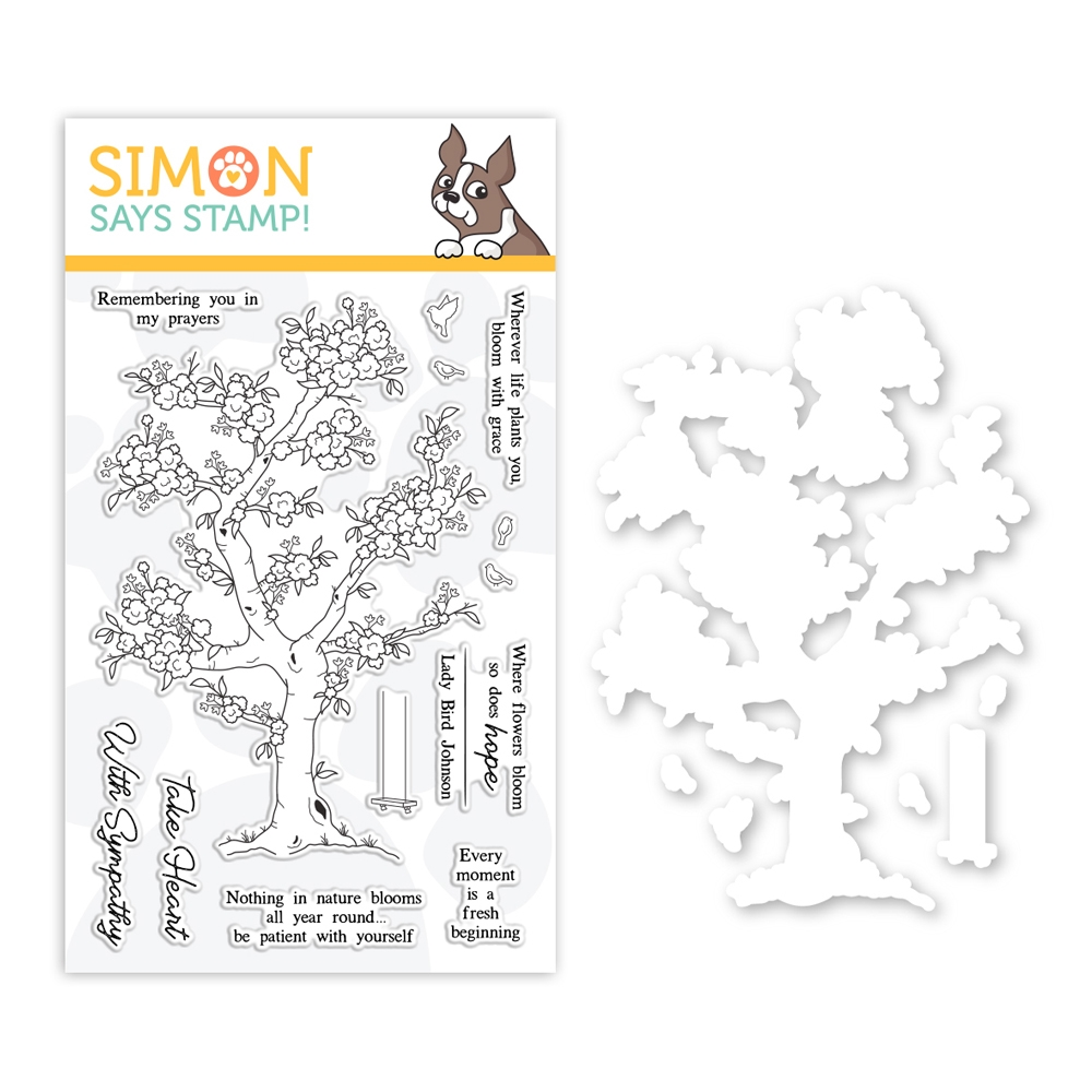 Simon Says Stamps And Dies BLOSSOMING set0319bg Fresh Bloom zoom image