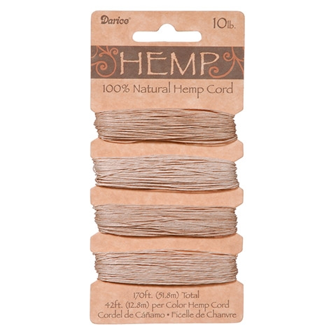 Darice NATURAL HEMP CORD 193690 zoom image