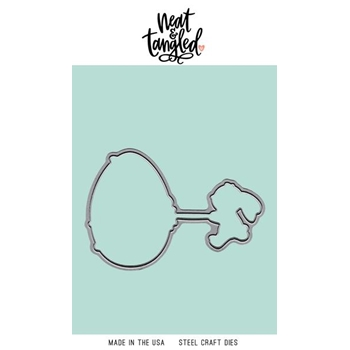 Neat and Tangled EGGCITING Dies NAT465