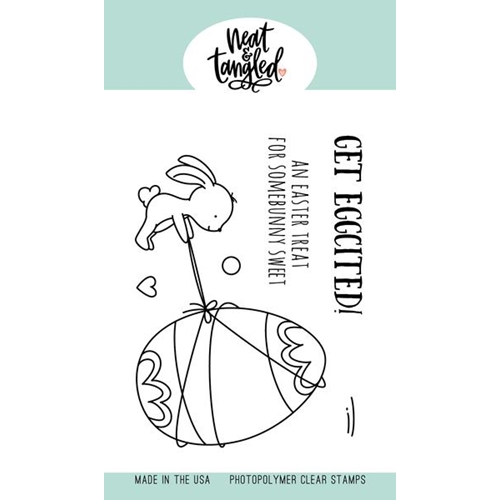 Neat and Tangled EGGCITING Clear Stamps NAT464 Preview Image